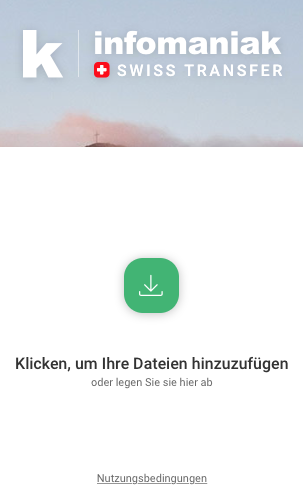 Bildschirmfoto Datentransfer